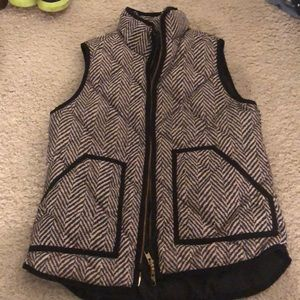 Herringbone quilted puffer best